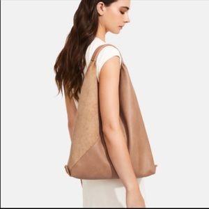 NWOT Shiraleah Arden Bag Oversize Vegan Le…